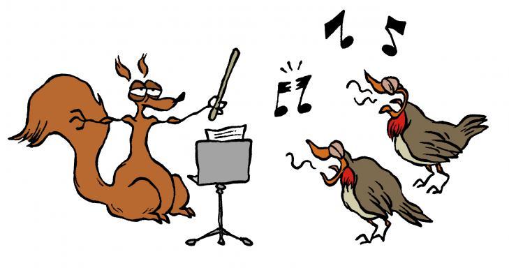 Pourquoi les oiseaux chantent espace des sciences - Dessin oiseau qui chante ...
