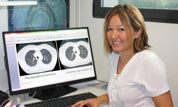 Lise Boussemart est dermatologue et chercheuse à l'Institut de génétique et développement de Rennes. crédit photo : Maryse Chabalier